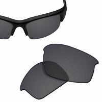 Polarized Replacement Lenses for-OAKLEY Bottlecap Sunglasses Solid Black UVA&UVB