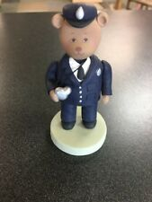 Pavilion Gifts Kneeded Bear Policeman w Whistle B48