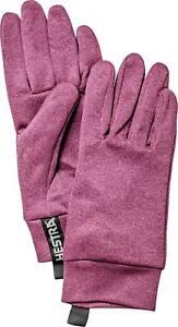 2020 Ladies Hestra Multi Active Liner Gloves Size 6 Fuchsia 34130 Winter Warm