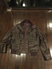 Diesel Leather Flight Bomber Coats   Jackets for Men   eBay 1134e274bad0