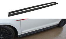 SIDE SKIRTS ADD-ON DIFFUSERS VW GOLF MK7 GTI (2012 - 2016)