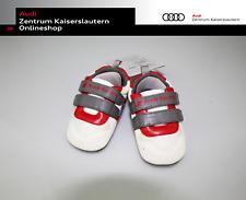 Audi Sport Baby Schühchen Gr. 17-18 Grau Weiß Rot 3201900900 Schuhe Baby Kind