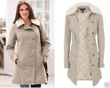 Manteaux et vestes beige coton mélangé pour femme