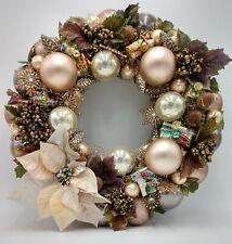 Cinnamon Spice Christmas Ornament Wreath