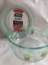 Pyrex Star Wars  Mandalorian The Child  4 Cup Bowl & Lid  NEW