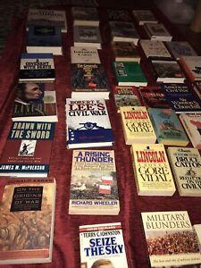 Civil War Books Lot  Of 35