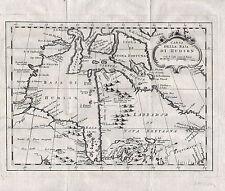 HUDSON BAY eine sehr schöne Landkarte von 1781 Original!