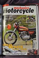 Classic Motorcycles Mechanics Magazine. No. 240, October 2007. Seeley Honda 750.