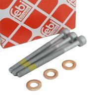 3 Zylinderschraube 3 Dichtringe Einspritzdüse Injektor für Mercedes Smart CDI