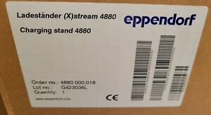 eppendorf Repeater (X)stream Electronic Pipettor Charging Stand 4880 000.018 NEW