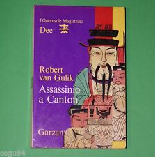 Assassino a Canton - Robert Van Gulik - 1^ ed.Garzanti 1975