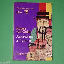 Assassino a Canton - Robert Van Gulik - 1^ ed.Garzanti 1975