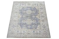"8X10 Gray Oushak Hand-Knotted Wool Area Rug Oriental Carpet (8'2"" x 9'9"")"