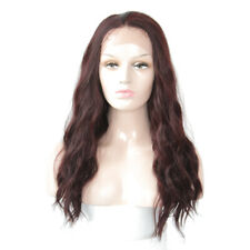 Lace Wig #99J Synthetic Hair Lace Front Wigs Long Natural Wave Trendy X-TRESS