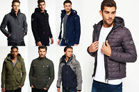New Mens Superdry Jackets Selection Various Styles & Colours