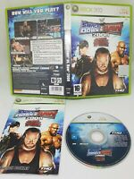 WWE SmackDown vs Raw 2008 Xbox 360 Wrestling Video Games Free P&P