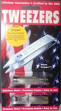 Uncle Bill's Sliver Gripper Stainless Steel Tweezers Twin Pack KeyChain / Bottle