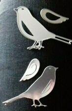Sizzix Die Cutter EMBOSSED BIRD Thinlits fits Big Shot Cuttlebug