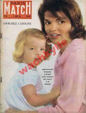 Paris Match n°627 du 15/04/1961 Kennedy Manet Morizot Eichmann Grèce URSS X-15