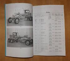 BK-12.BK12. produzione Knox. MOTOR GRADER. LIBRO di parti di ricambio.No.1008.