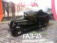 1:43 GAZ-21 (trehoska) Army mule Russian LEGEND Diecast + Magazine #113