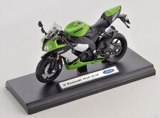 Blitz envío Kawasaki Ninja zx-10r 2009 verde Welly moto modelo 1:18 nuevo embalaje original