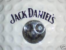 JACK DANIELS WHISKEY VINTAGE LOGO GOLF BALL (BLK/GREY)
