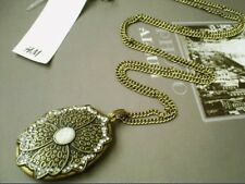 Vintage look Pendant & Chain Necklace - New