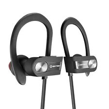 Bluetooth Headphones Sport Stereo Headset Earbuds Earphones Gym Workout NEW Free