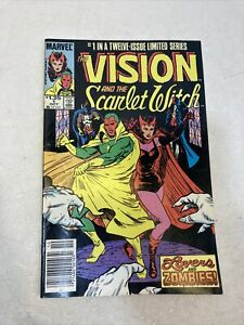 Vision and the Scarlet Witch #1 1985 Series WandaVision Super Nice Condition