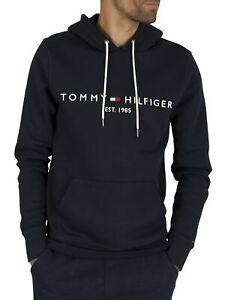 Tommy Hilfiger Men's Core Logo Hoodie, Blue
