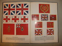 War Book 21x15cm - British Infantry Colours Dino Lemonofides 1971  BLUE cover