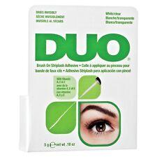 DUO BRUSH ON Striplash Adhesive Eyelash Glue  / White Clear