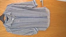 French Connection Blouse Size Small BNWT blue and white stripe £55