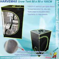 Hydroponics High Quality Mylar HARVEMAX Grow Tent 50x50x100CM Indoor Seedling
