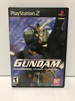 Mobile Suit Gundam: Journey To Jaburo *Playstation 2* Complete w/ Manual