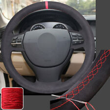 Stitch Steering Wheel Cover Full Wrap for BMW 5 6 Series 550i 535i 5GT 11-16 New