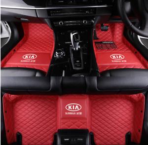 For Kia-Carnival-Cerato-Optima-Rio-Sorento-Soul-Sportage-Stinger Car  Mats