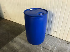 Reconditioned Clean 200 Litre Plastic Drums - Water/Liquid/Storage Containers