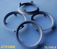 S52 4 Stück  Zentrierringe 73,1 65,1 mm gelb für Alufelgen
