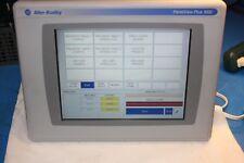 Allen Bradley Panel View Plus 1000 Operator Interface Panel 2711P-T10C4B1