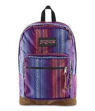 NEW✿ JanSport Right World Pack Rucksack Laptop Pouch Blue Purple Acapulco Mexico