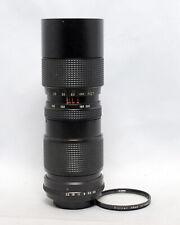 Vivitar 85-205mm 1:3.8 Close Focusing Auto Zoom Lens Manual Focus Lens 35mm SLR