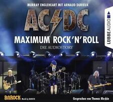 Preisalarm! HÖRBUCH * AC/DC - Maximum Rock'N'Roll - Die Audiostory (4CD) NEU&OVP