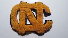 Vintage Wool 1950'S Letterman'S Football Varsity Jacket Letter Gold Blue Nc