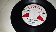 """BUDDY WILLIAMS Marry Him / Life Love And Devotion CADETTE 8008 TEENER WOP 45 7"""""""