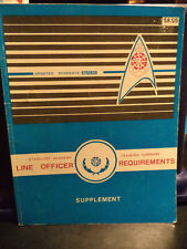 Star Trek - Starfleet Line Officer Reqirements Suppliment Book