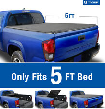 Tonneau Covers Fleetside Oedro Upgraded Soft Tri Fold Truck Bed