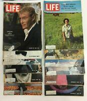 Life Mags 1965, Lot12 Assorted Jan/Feb/Apr/May/Jun/Jul/Aug/Sep/Nov/Dec, Gd-Acpt