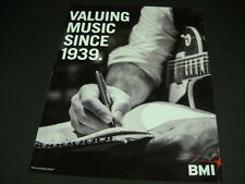Bmi Valuing Music Since 1939 Promo Display Ad from 2013